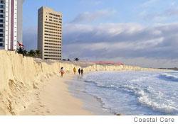 Sea- level rise threatens Yucatan Peninsula, Cancun, Mexico